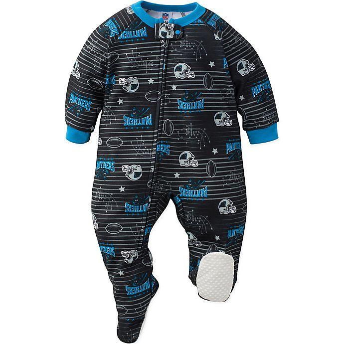 Alternate image 1 for NFL Carolina Panthers Size 18M Blanket Sleeper