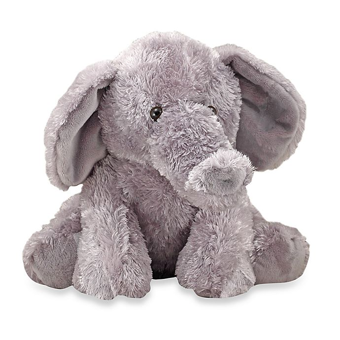 Alternate image 1 for Melissa & Doug® Sterling Baby Elephant Stuffed Animal