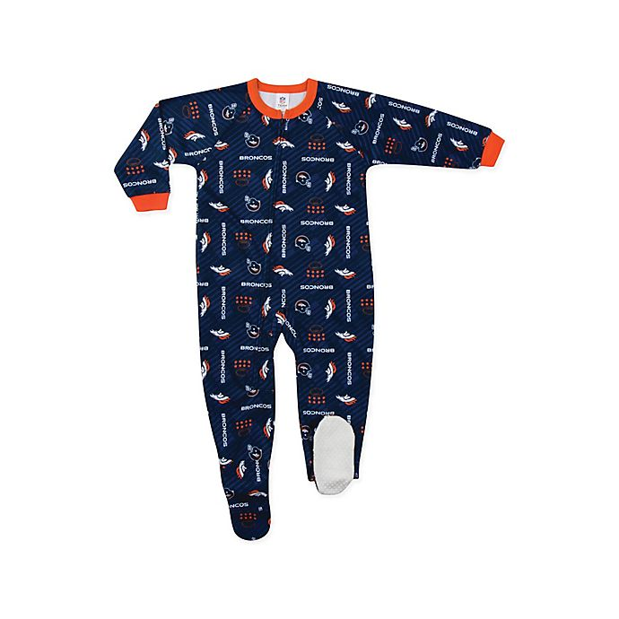 Alternate image 1 for NFL Denver Broncos Blanket Sleeper