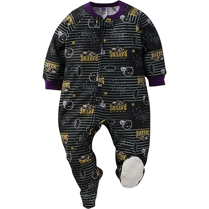 Alternate image 1 for NFL Baltimore Ravens 18M Blanket Sleeper