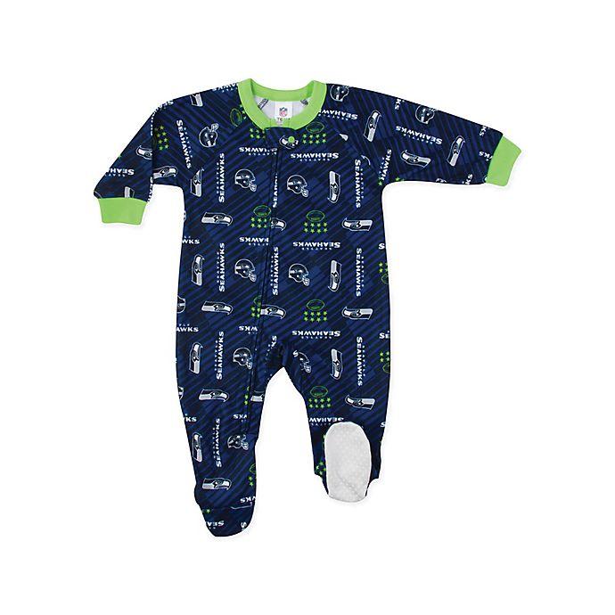 Alternate image 1 for NFL® Oakland Raiders Footie Sleepwear