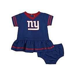 NFL New York Giants Girls Dazzle Dress with Panty Set