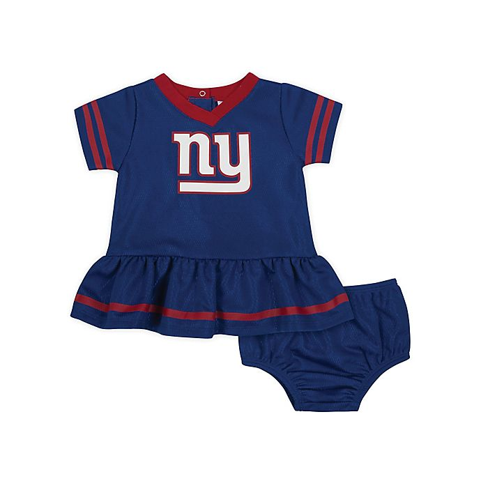 Alternate image 1 for NFL New York Giants Girls Dazzle Dress with Panty Set