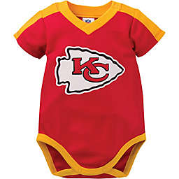 NFL Kansas City Chiefs Boy Short-Sleeve Bodysuit Set