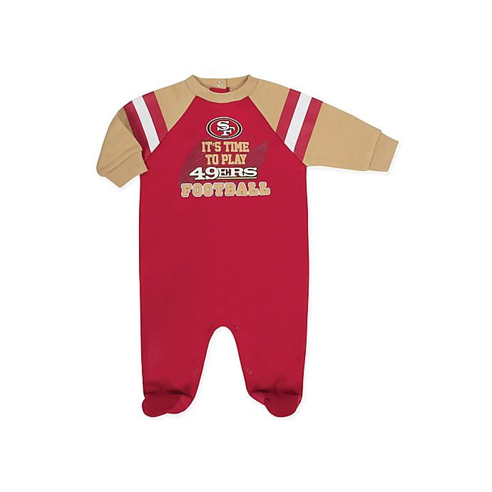 Alternate image 1 for NFL® San Francisco 49ers Sleep N' Play Footie