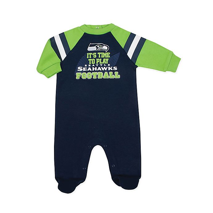 Alternate image 1 for NFL® Seattle Seahawks Sleep N' Play Footie