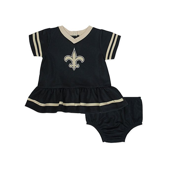 aeee34cfd NFL New Orleans Saints Girls Dazzle Dress with Panty Set | buybuy BABY