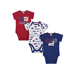NFL® New York Giants 3-Pack Short Sleeve Bodysuits c92730c16