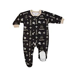 NFL® New Orleans Saints Footie Sleepwear