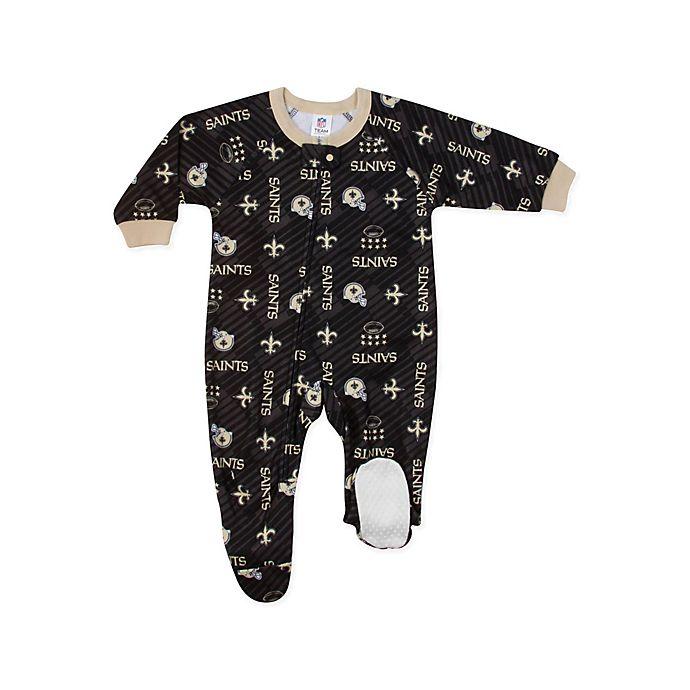 Alternate image 1 for NFL® New Orleans Saints Size 6M Footie Sleepwear