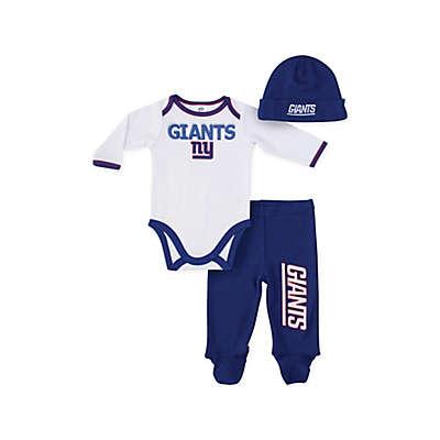 NFL® New York Giants 3-Piece Bodysuit Set