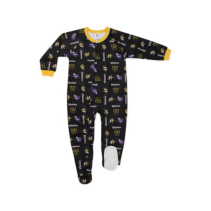 Alternate image 1 for NFL® Minnesota Vikings Size 3T Footi Blanket Sleeper