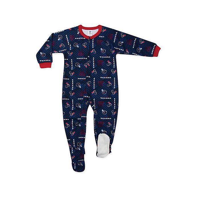 Alternate image 1 for NFL® Houstan Texans Footi Blanket Sleeper