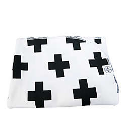 Wildfire Teepees® Cross Swaddle Blanket in White