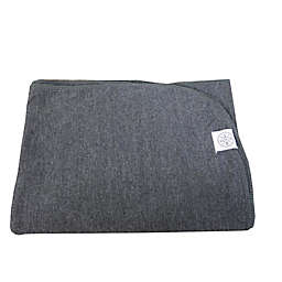 Wildfire Teepees® Solid Swaddle Blanket in Charcoal