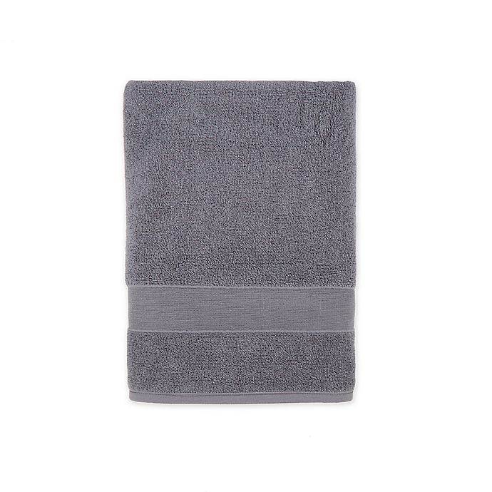 Alternate image 1 for Wamsutta® Classic Turkish Bath Towel in Charcoal