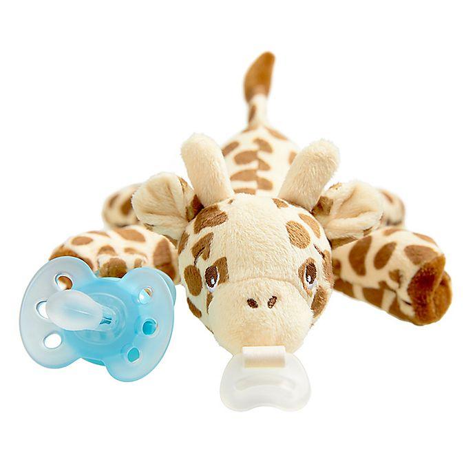 Alternate image 1 for Philips Avent Ultra-Soft Giraffe Snuggle in Blue