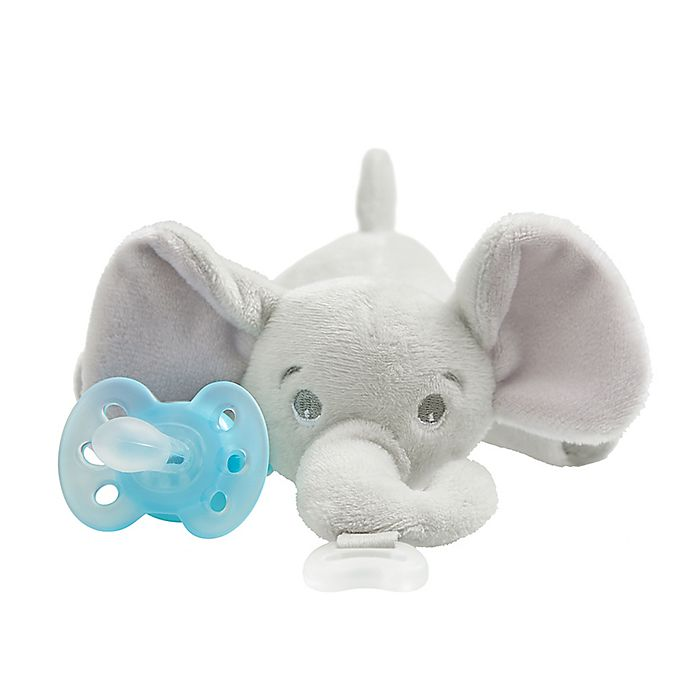 Alternate image 1 for Philips Avent Ultra-Soft Elephant Snuggle in Blue