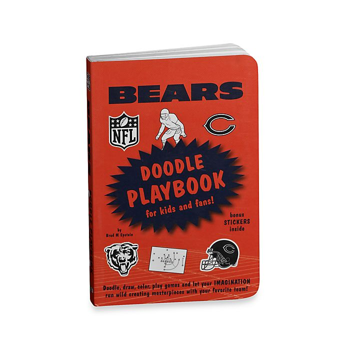 Alternate image 1 for Chicago Bears Doodle Playbook