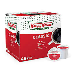 Krispy Kreme® Classic Medium Roast Coffee Keurig® K-Cup® Pods Value Pack 48-Count