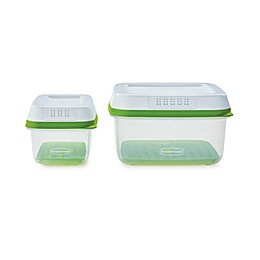 Rubbermaid® FreshWorks™ 4-Piece Produce Saver Containers