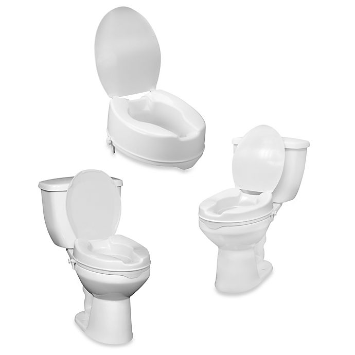 Drive Raised Toilet Seat With Arms.Drive Medical Raised Toilet Seat With Lid Bed Bath Beyond
