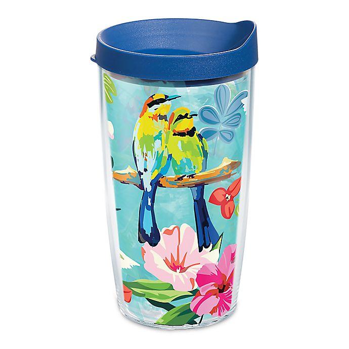 Alternate image 1 for Tervis® Bright Bird Pattern 16 oz. Wrap Tumbler