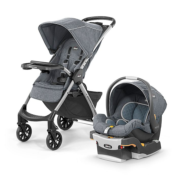 Alternate image 1 for Chicco® Mini Bravo® Plus Travel System in Bombay