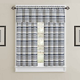 J. Queen New York™ Aedan Window Curtain Panels and Valence Collection