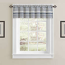 J. Queen New York™ Aedan Window Valence in Indigo
