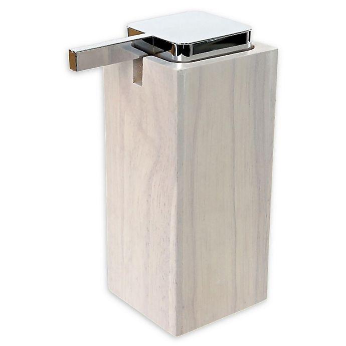 Alternate image 1 for Nameeks Papiro Soap Dispenser in White