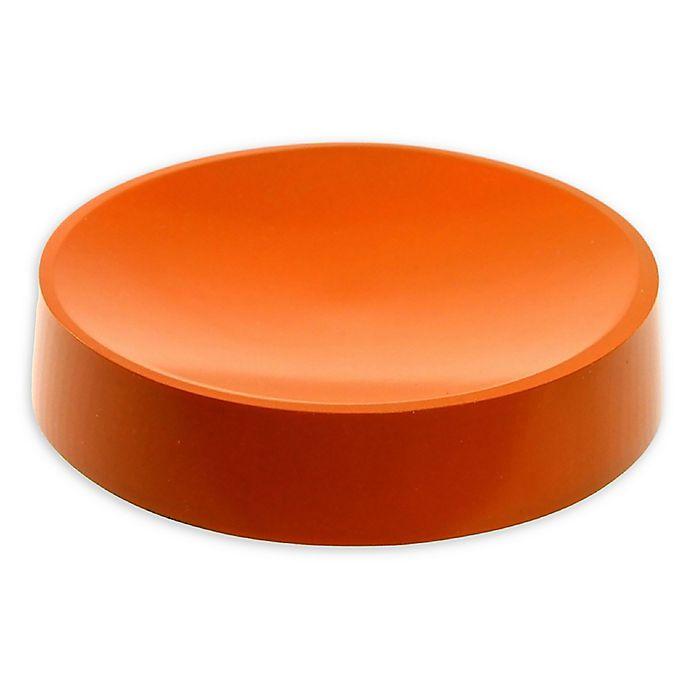Alternate image 1 for Nameeks Yucca Soap Dish in Orange