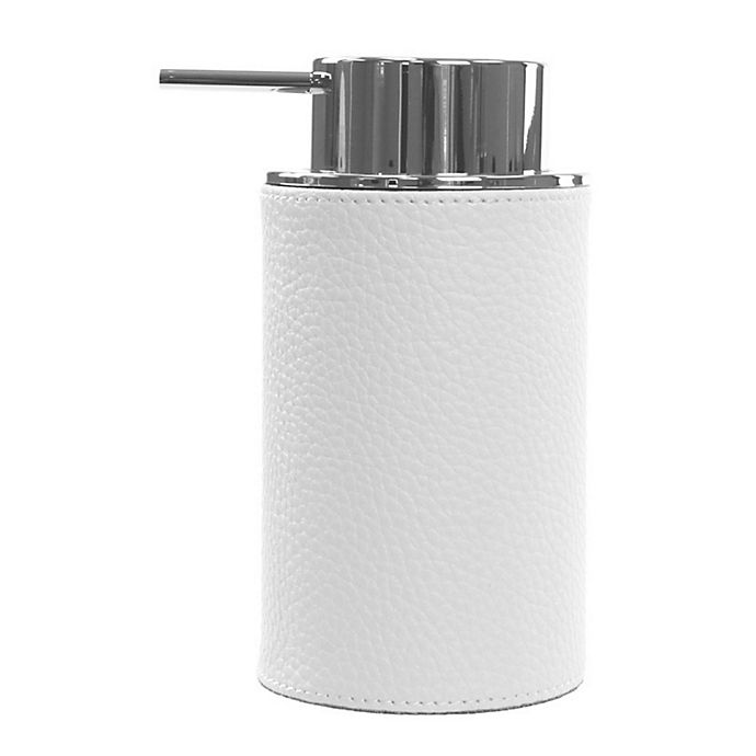 Alternate image 1 for Nameeks Alianto Soap Dispenser in White