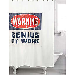 Genius Multicolor Shower Curtain