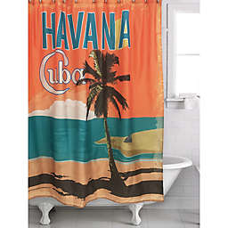 Havana Multicolor Shower Curtain