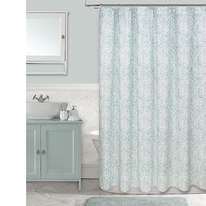 Alternate image 1 for Colordrift Botanical Shower Curtain