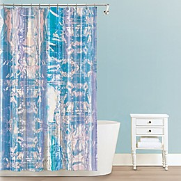 Iridescent PEVA Shower Curtain