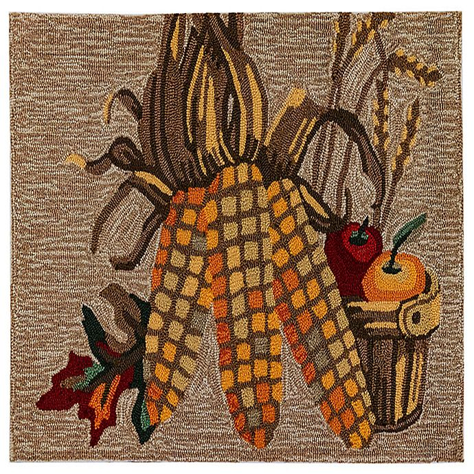 Alternate image 1 for Liora Manne Corn 1'8 X 2'6 Indoor/Outdoor Accent Rug in Natural