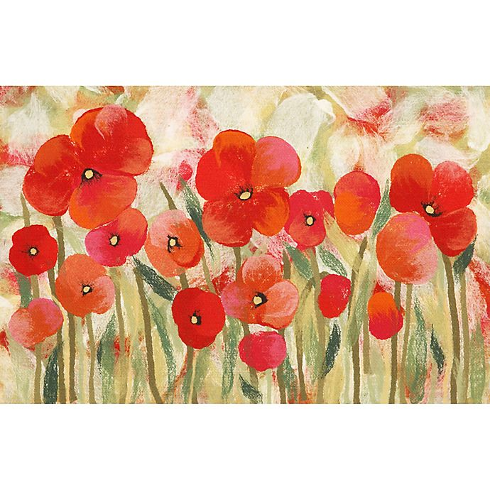 Alternate image 1 for Liora Manne Poppies Powerloomed Rug