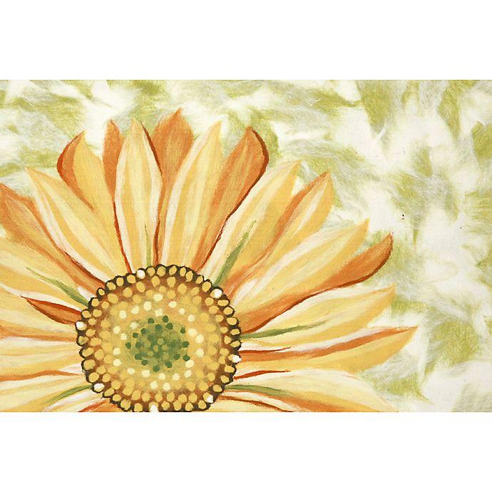 Liora Manne Sunflower Indoor Outdoor Accent Rug In Yellow