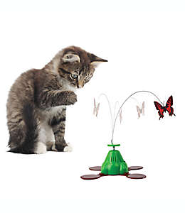 Pet Zone® Fly By™Móvil giratorio para gato en rojo/verde