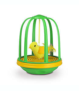 Pet Zone® Caged Canary™Juguete para gato en verde/amarillo