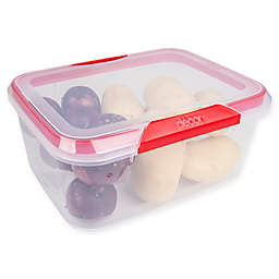Décor® Match-Ups® Clips 236 oz. Oblong Food Storage Container in Red