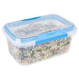 Décor® Match-Ups® Clips 33.6 oz. Oblong Food Storage Container in Blue