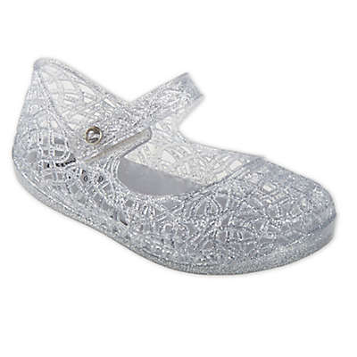 Stepping Stones Jelly Mary Jane Sandal in Silver