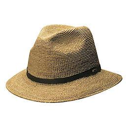 Scala™  Crocheted Raffia Safari Hat