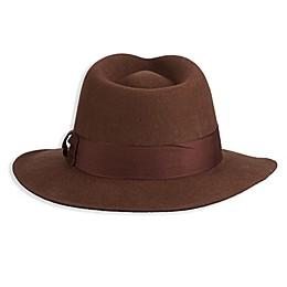 Scala Indiana Jones Fedora Hat in Brown