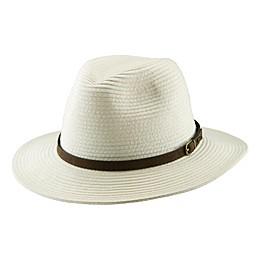 Scala™ ® Men's Paper Braid Safari Hat in Ivory