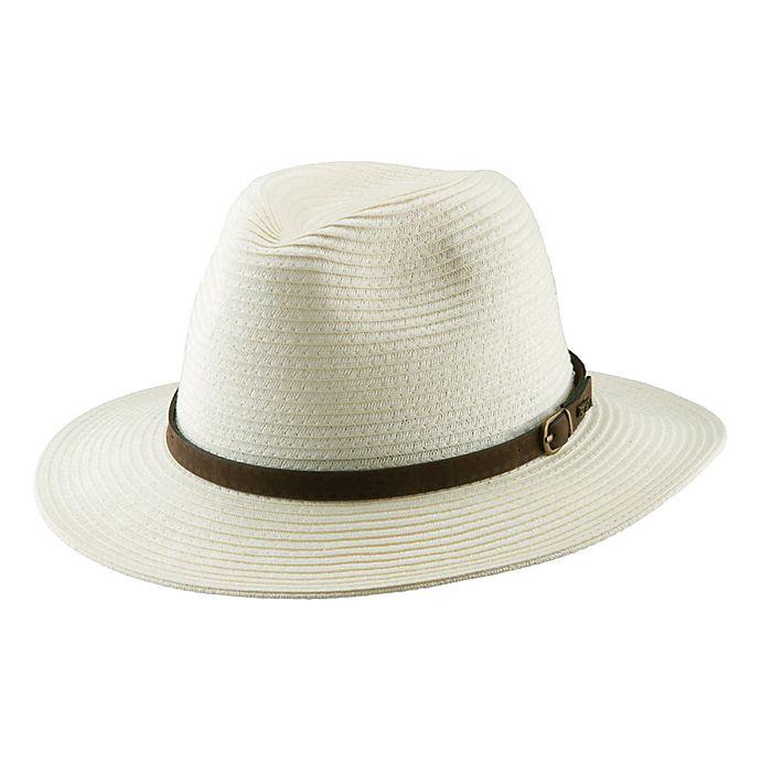 07c607b787263e Scala™ ® Men's Paper Braid Safari Hat in Ivory | Bed Bath & Beyond