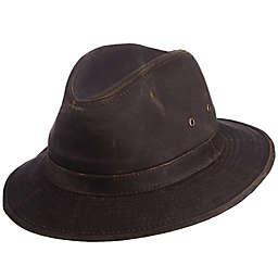 DPC™ Weathered Cotton All-Season Safari Hat in Brown